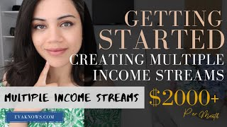 Create PASSIVE INCOME - Why Having MULTIPLE STREAMS OF INCOME Is So ESSENTIAL!