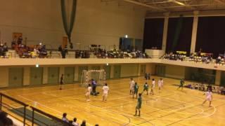 平成27年度 第55回 長野県総合ハンドボール選手権大会 準決勝 Nagano Yeti VS  如月クラブ 後半