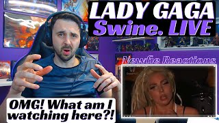 Lady Gaga Live Reaction to Swine! This performance was insane!