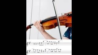 씨스타 러빙유  바이올린 악보