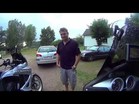 Norway tripp on a Honda XL1000 Varadero motorcycle, part 1