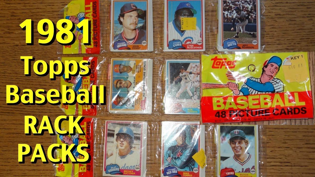 Opening 1981 Topps Baseball Rack Packs 3