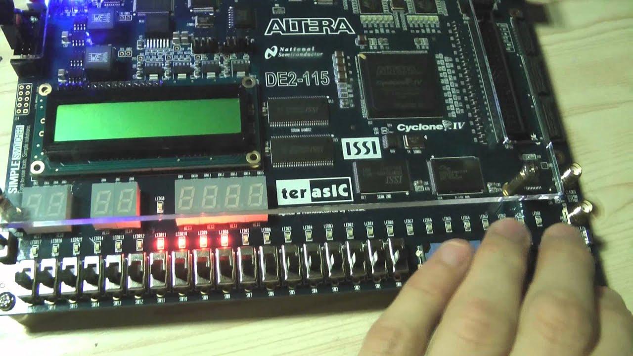 Beepus 0 1 - Simple Beeping Generator on Altera DE2-115 FPGA board