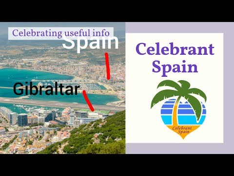 How to get married on Gibraltar with Debbie Skyrme, Celebran