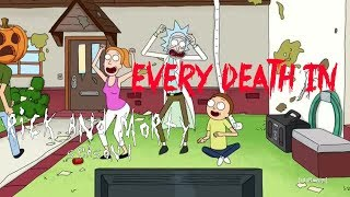 EVERY DEATH IN SERIES #16 Rick and Morty S01 (2013)