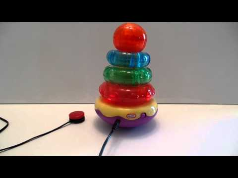 Switch Adapted Light-up Stacker