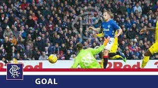GOAL | Rangers 1-0 HJK Helsinki | Scott Arfield