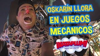 OSKARIN LLORA EN JUEGOS MECANICOS