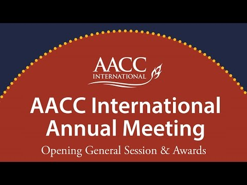 2014 AACC International Annual Meeting Opening Session