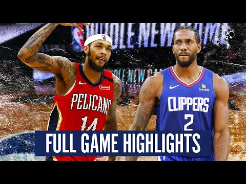 NEW ORLEANS PELICANS vs LA CLIPPERS - FULL GAME HIGHLIGHTS | 2019-20 NBA Season