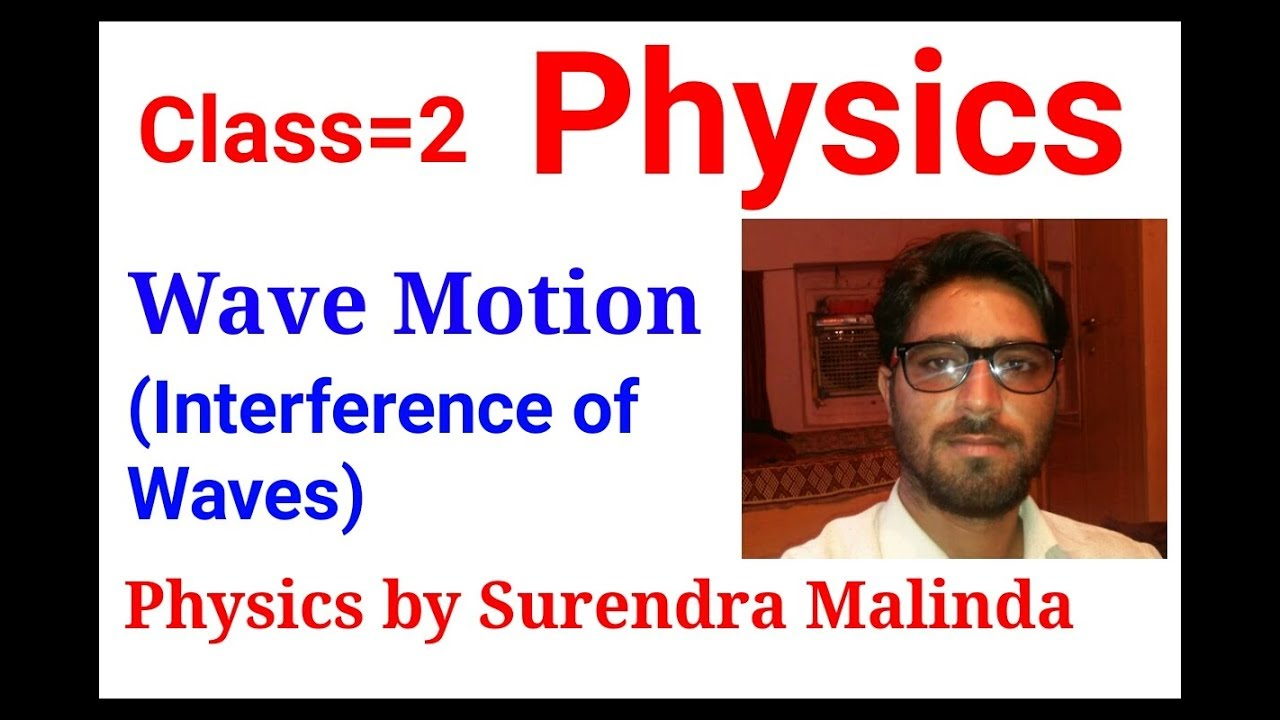 Class=2 Lab assistant physics Interference of waves/PMT physics=JEE  physics/Rpsc grade physics