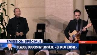 Claude Dubois - Si dieu existe ( Aux Funérailles de Jacques Parizeau )