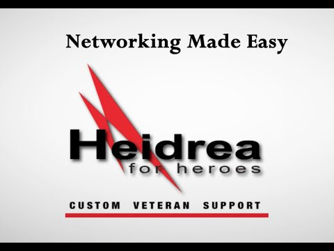 H4H: Success Readiness Series: Networking Made Easy! Special Veterans Edition