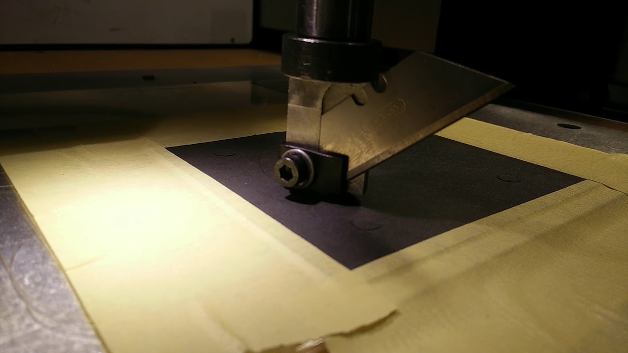 Shapeoko3 Drag Knife Gasket Cutting Cnc by flo Boisseau