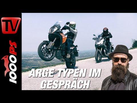3 Jahre Motorrad-Weltreise, Rallye Dakar & Erzberg  - Lyndon Poskitt bei 1000PS
