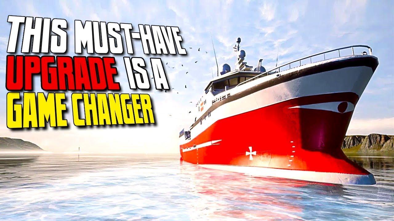 Fishing Barents Sea Boat Upgrades Engine 3 No Cheats Fishing