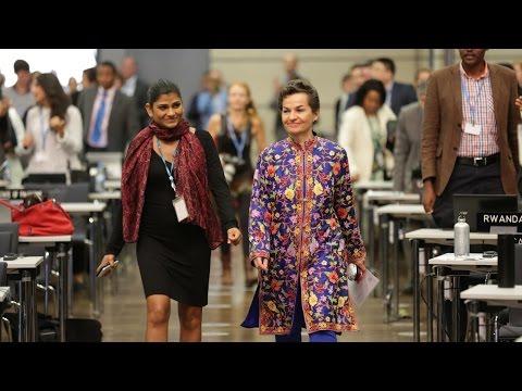 Musical Present for Christiana Figueres, former UNFCCC Executive Secretary