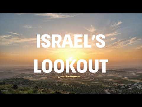 (3) Israel's Lookout | A journey with the FUJIFILM GFX 50R - YouTube