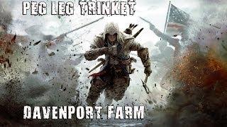 FiKDiK #008 - Assassins Creed 3 - Bugiganga de Peg Leg (Fazenda Davenport)