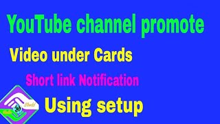 How to add card your YouTube videos