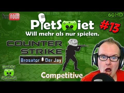 Best Of PietSmiet 🎮 CSGO ┊ Competitive #13 (Chris ist auch mit dabei)