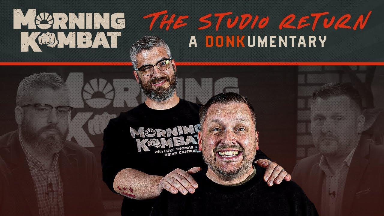 The Studio Return | A MORNING KOMBAT Documentary
