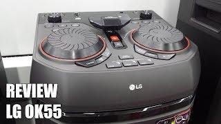 Review LG OK55 Nuevo Altavoz para fiestas Bluetooth 500W 2018