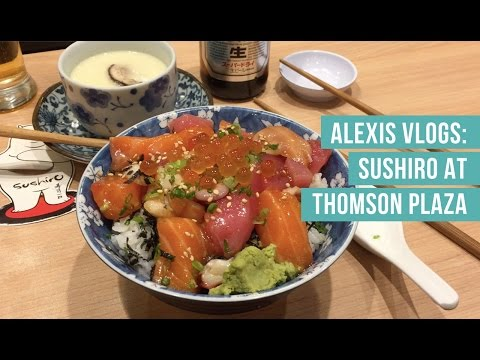 Alexis Vlogs: Fresh Chirashi Don for under S$13 in Singapore