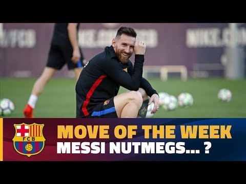 MOVE OF THE WEEK #1 | Messi nutmegs Sergio Busquets