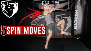 5 Spinning Attacks (and Set-ups) for MMA