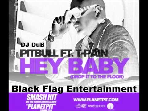 Pitbull   Hey Baby (Drop It To The Floor) Ft. T Pain (Screwed)