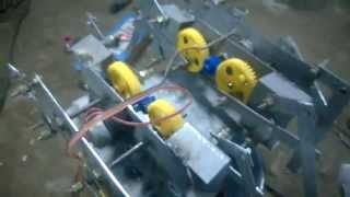 8 leg kinematic robot mechanical engineering project topics