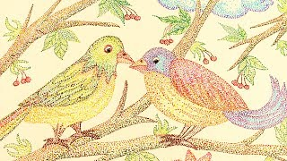 How to draw birds in dot art step by step || My Creative Hub