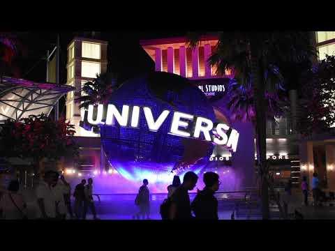 Sentosa Island, Singapore - Universal Studios Globe (2018)