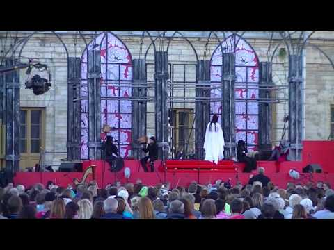 """Richard Wagner,Tannhauser, """"Opera For All"""" 2016 festival, Gatchina Palace, Sat July 16 2016 part 2"""