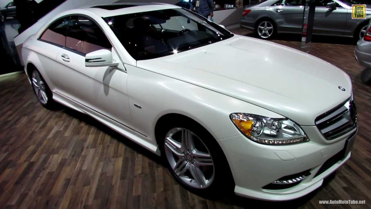 2013 mercedes benz cl550 4matic exterior and interior walkaround 2013 detroit auto show youtube
