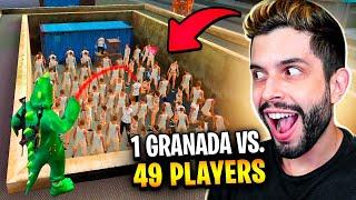 GRANADA VS. 49 INSCRITOS!! SE ESCAPAR GANHA!! FREE FIRE