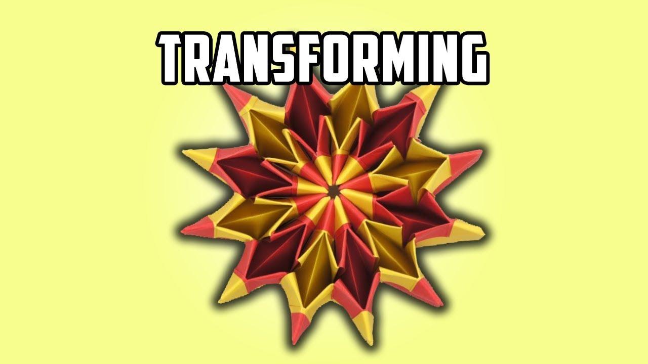 How To Make an origami Magic circle - YouTube   720x1280