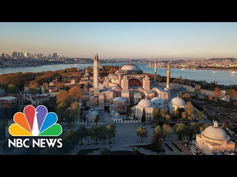 Turkey's Culture War Widens After Iconic Hagia Sophia Reopens As A Mosque | NBC News