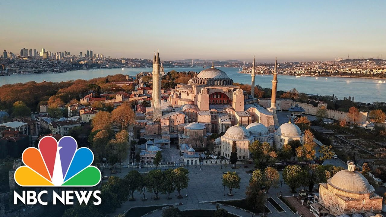 Download Turkey's Culture War Widens After Iconic Hagia Sophia Reopens As A Mosque   NBC News