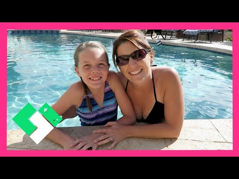 MOTHER'S DAY IN THE SWIMMING POOL (Day 1499) | Clintus.tv