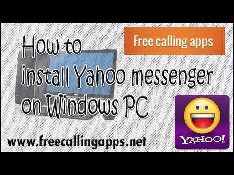 How To Install Yahoo Messenger On Windows Computer