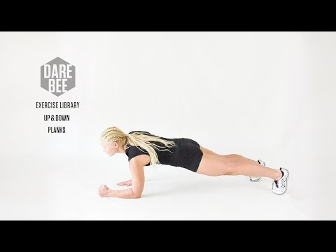 Exercise Library: Up & Down Planks