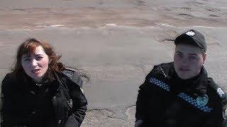 Дальнобойщик и полиция.  Пастух и доярка на службе в полиции Коростеня