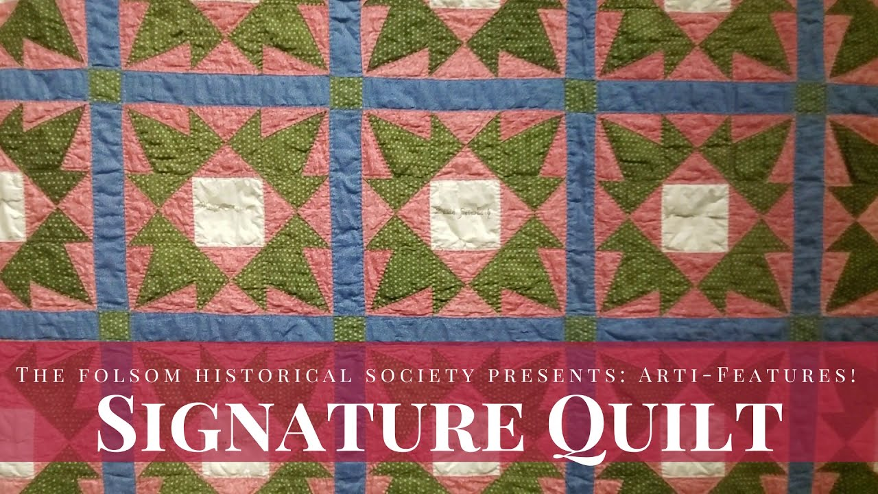 ArtiFeatures - Signature Quilt