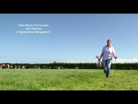 Dairy women talk about the Diploma in Agribusiness Management