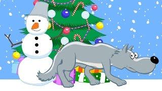 Песни для детей - Новогодний сборник: В лесу родилась елочка, Жила-была Царевна, Смышленый Паровозик