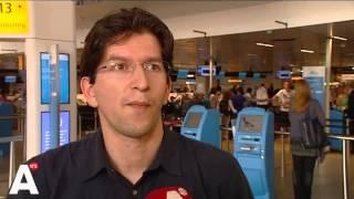 Vrouw miste vlucht MH17 net