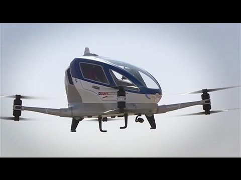 Flying Drone Taxis Could Take Off In Dubai
