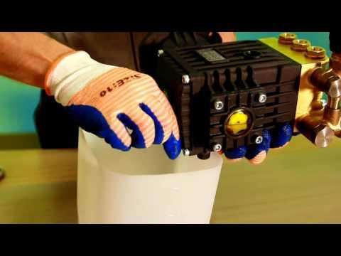 Ремонт Аппарата Высокого Давления, замена масла в помпе 3WZ